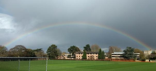 Harbinger of hope - rainbow
